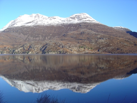 Slioch Reflections         Copyright: Tom Forrest